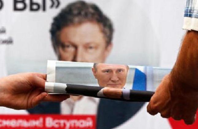 حزب بوتين يفوز بالغالبية المطلقة في البرلمان