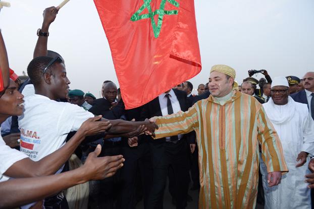 الملك محمد السادس حامل مشعل السلام والتنمية في القارة الإفريقية