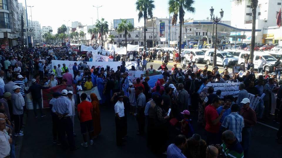 """قيادي في العدالة والتنمية: البام و"""" التحكم"""" وراء مسيرة الدار البيضاء """"الفاشلة"""" وجهات تدعمها"""