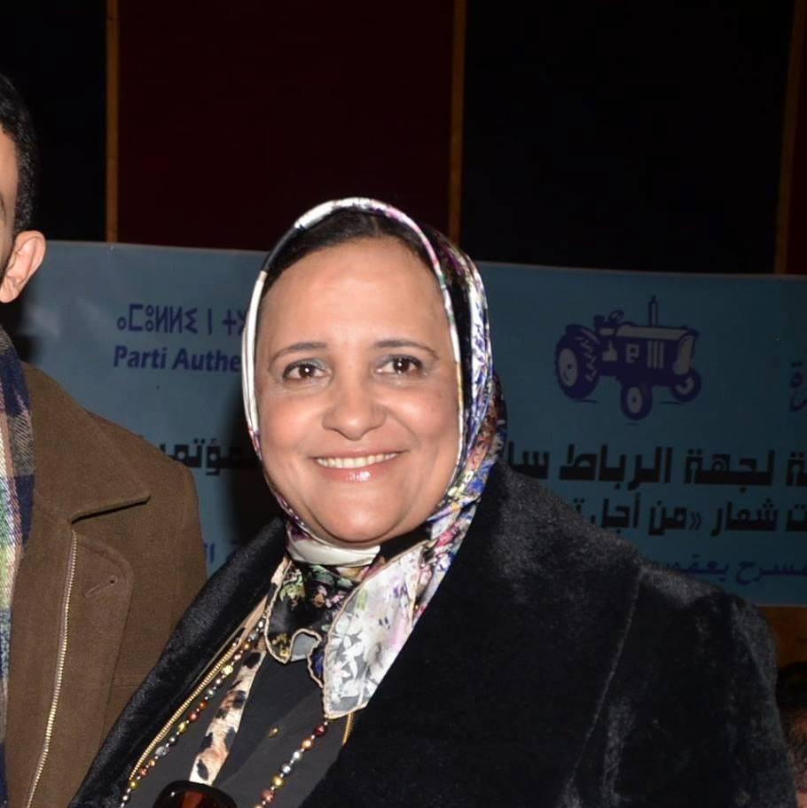 بورتريه: سعاد بوحاميدي مسار سياسية من أصول صحراوية وجدث نفسها تناضل في البام
