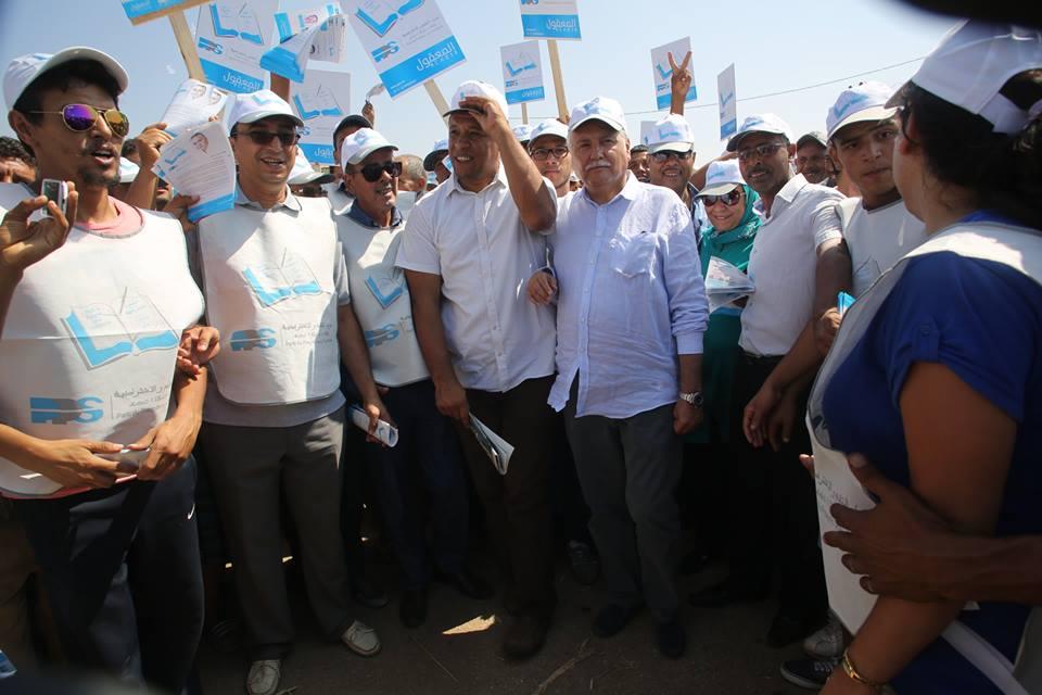 انشقاقات بحزب التقدم و الاشتراكية بمدينة سلا في عز الحملة الانتخابية