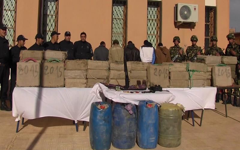 تهريب المخدرات، من بين الأنشطة العديدة غير المشروعة بمخيمات تندوف الخاضعة لسيطرة البوليساريو
