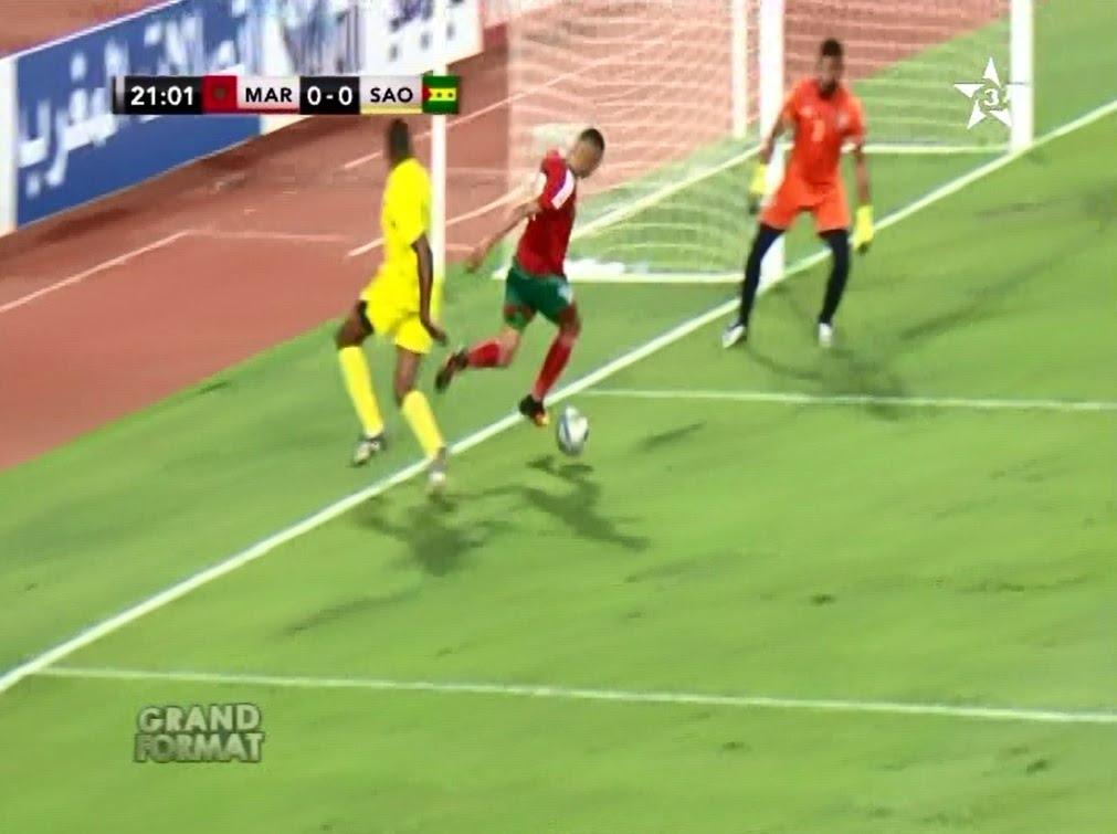 ملخص مباراة المنتخب الوطني 2-0 ساوتومي