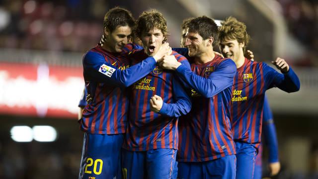 """""""برشلونة يمكنه أن يلعب نصف مبارياتالبطولة الاسبانية بالفريق الرديف"""""""