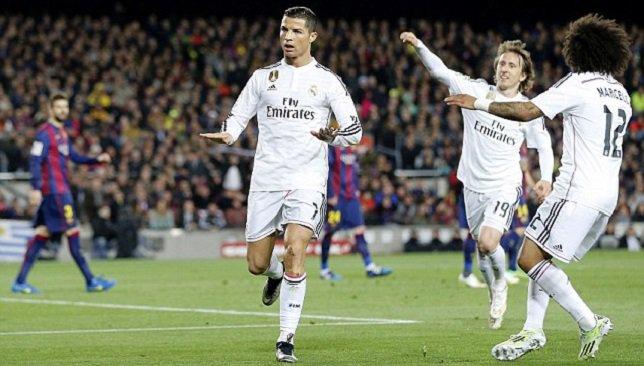 ريال مدريد يضرب بقوة وينفرد بالصدارة وغريزمان يقود اتلتيكو لفوزه الاول