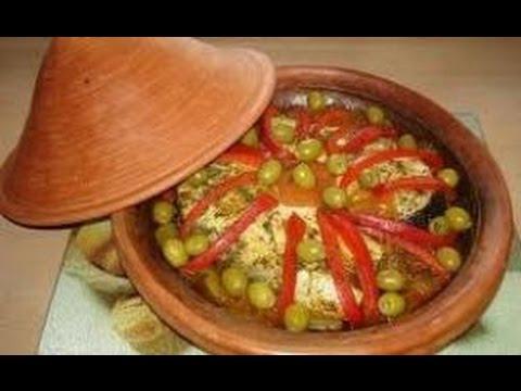 تحضير وجبة طاجين بالسمك الابيض سهلة ولذيدة….