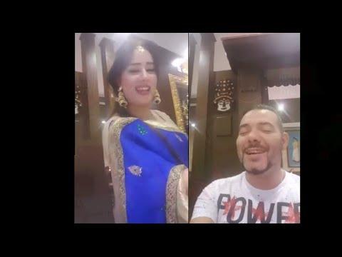 الفنان الشعبي عادل الميلودي ينشر الاسلام بدولة الامارات المتحدة بطريقته المضحكة
