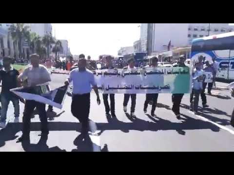 هكذا انطلقت مسيرة الدار البيضاء ضد أخونة الدولة والمجتمع