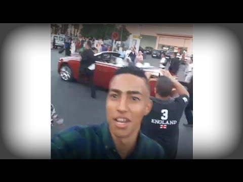 بالفيديو| شاب يلتقط فيديو سيلفي والملك محمد السادس يتجول بسيارته بشوارع مراكش