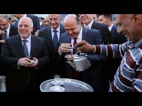 مواقف محرجه ومضحكه لرئيس الوزراء العراقي حيدر العبادي