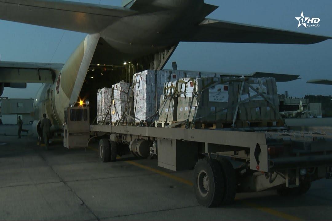 الملك محمد السادس يرسل مساعدات انسانية هامة لمنكوبي الفيضانات ببوركينا فاسو