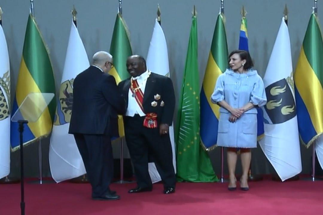 بنكيران يسلم رسالة تهنئة الملك محمد السادس للرئيس الغابوني في حفل تنصيبه لولاية جديدة