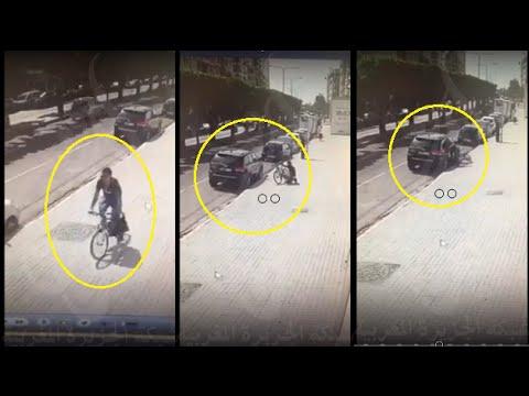 تحطيم زجاج سيارة مواطن مغربي وسرقة حقيبة يدوية