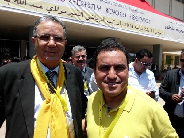 """حزب الحركة الشعبية بالناظور يستعين ب""""بوصابون"""" لدعم الرحموني في الانتخابات التشريعية"""