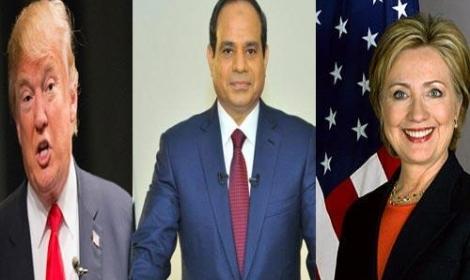 ترامب وكلينتون عقدا لقاءين منفصلين مع السيسي