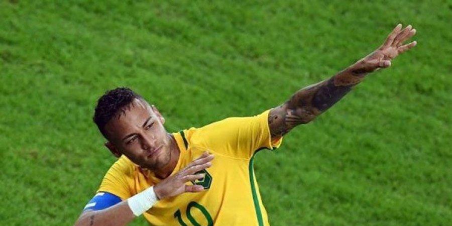 نيمار يعادل رقم زيكو في عدد الاهداف الدولية للبرازيل