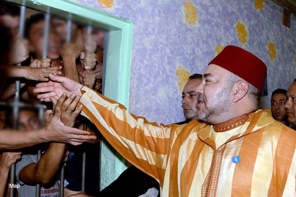 الملك محمد السادس يصدر عفوه السامي على 698 شخصا بمناسبة عيد الأضحى