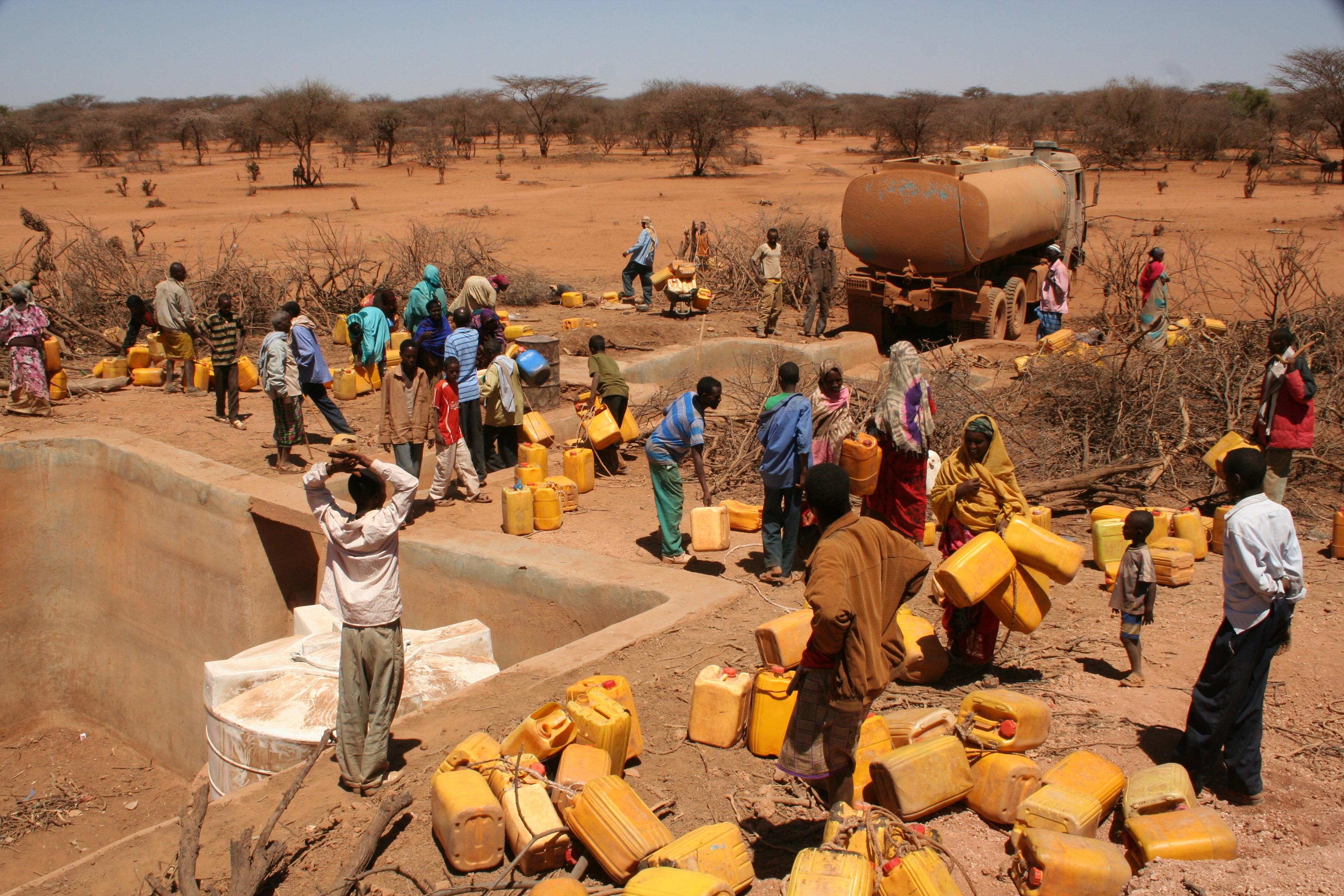 الجفاف يجتاح جنوب افريقيا