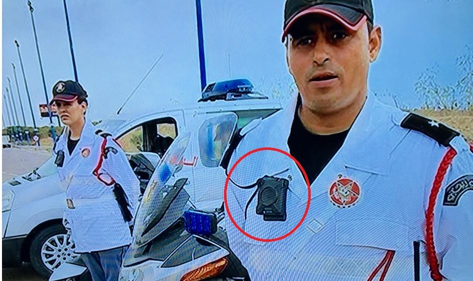 الجنرال بنسليمان يجهز الدرك بكاميرات على صدورهم