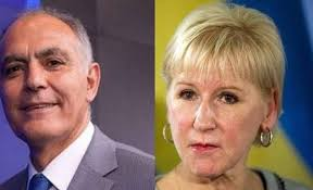"""وزيرة الشؤون الخارجية السويدية تصف مباحثاتها مع  مزوار ب """"المثمرة"""" و """"الودية"""""""