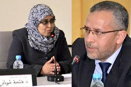 """فضائح """"البيجيدي"""" : ضبط شقيقة """"الشوباني"""" توزع شيكات على """"شناقة"""" الانتخابات"""