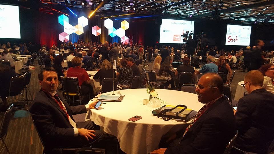 عبد المومني يستعرض في المنتدى الدولي حول الاقتصاد الاجتماعي والتضامني بكندا و بحضور 67دولة تجربة التعاضدية العامة في التنمية والتضامن