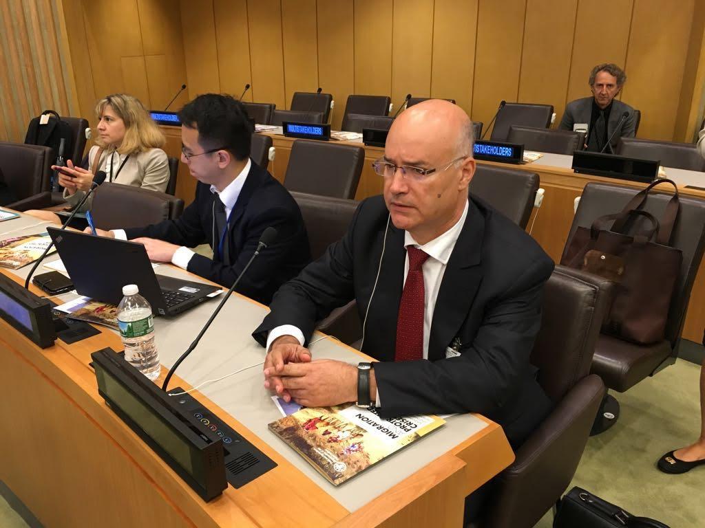بيرو من الأمم المتحدة: المملكلة المغربية  ستواصل سياسة الهجرة وفقا لمبادئنا وقناعاتنا و إنسجاما مع إعلان نيويورك