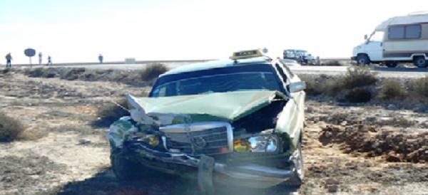 إصابة 10 أشخاص بجروح متفاوتة الخطورة في حادثتي سير متفرقتين بإقليم كلميم