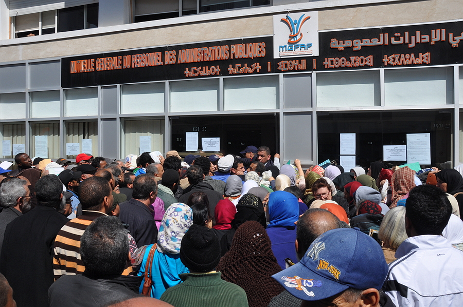 التعاضدية العامة لموظفي الادارات العمومية استقبلت أزيد من ألف و100 شخصا في الرباط 900 ملف من مكاتب القرب