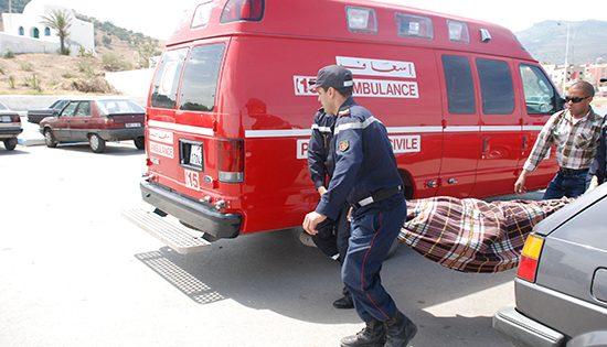 مصرع خمسة أشخاص في حادثة سير ببني مسكين بسطات