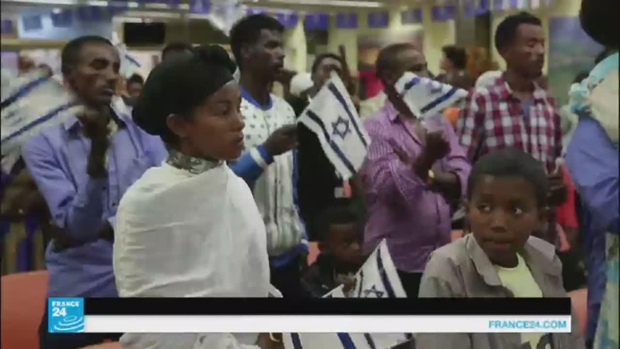كاد الفقر ان يكون دينا..أكثر من 100 ألف يهودي أثيوبي يعيشون في إسرائيل