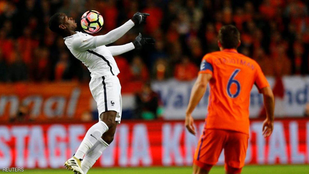 فرنسا تفوز على هولندا بهدف مقابل لا شئ في تصفيات كأس العالم لكرة القدم