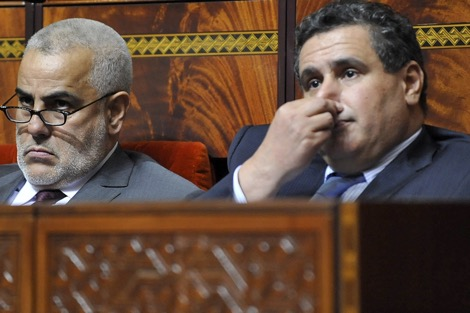 """بنكيران يواجه """"كتائبه الالكترونية"""" و"""" المداويخ"""" مخافة من اخنوش"""