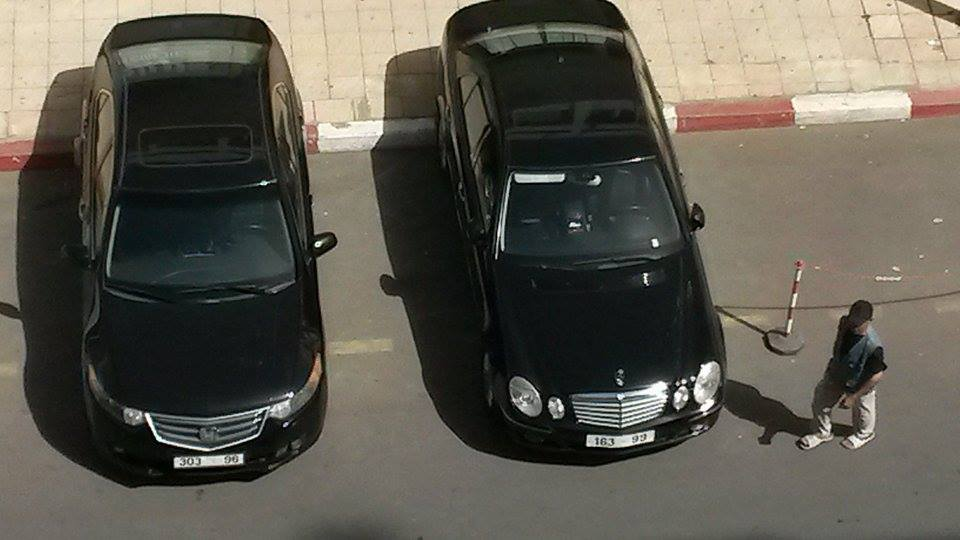 غريب:وزير الثقافة المنتمي لحزب التقدم والاشتراكية محمد أمين الصبيحي يخرق قانون السير