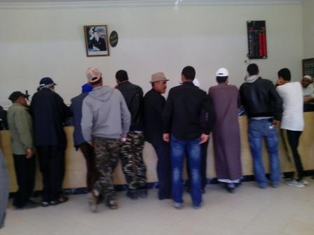 موظفو المغرب يناهزون المليون شخص