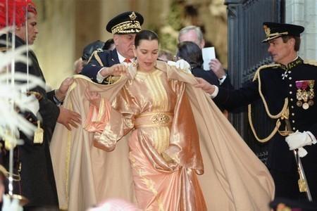 الأميرة للا مريم تحضر بتيرانا حفل زفاف الأمير ليكا الثاني لألبانيا