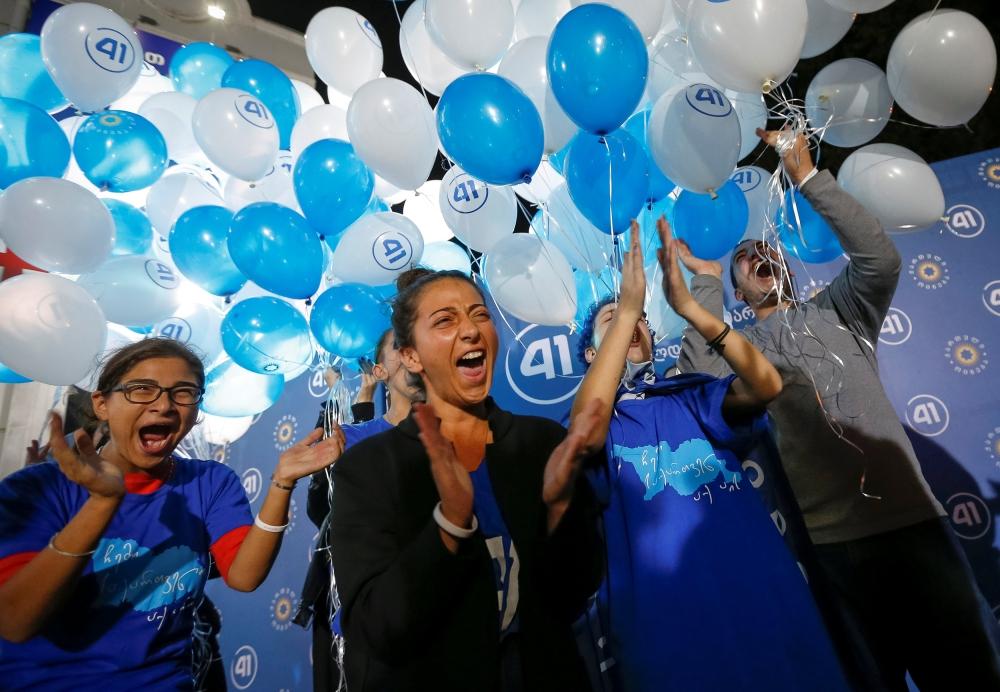 """حزب """"الحلم الجورجي"""" الحاكم يتصدر النتائج الجزئية للانتخابات التشريعية"""