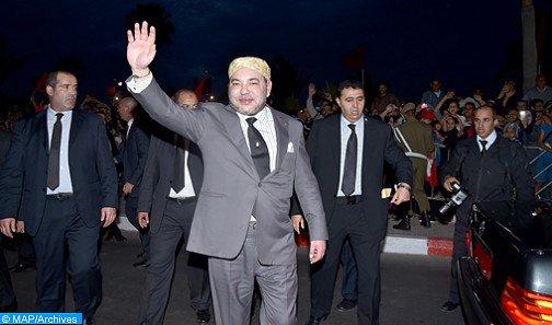 حفل استقبال رسمي على شرف الملك محمد السادس بكيغالي