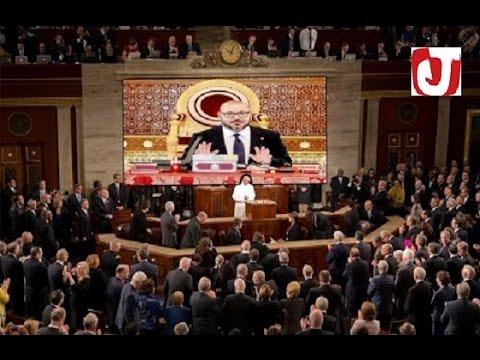 الكونغريس الأمريكي يصف الملك محمد السادس بالرائع و يشكره لخطاب جلالته