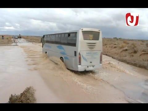 الفيضانات تضرب إقليم فكيك من جديد و تقطع الطريق
