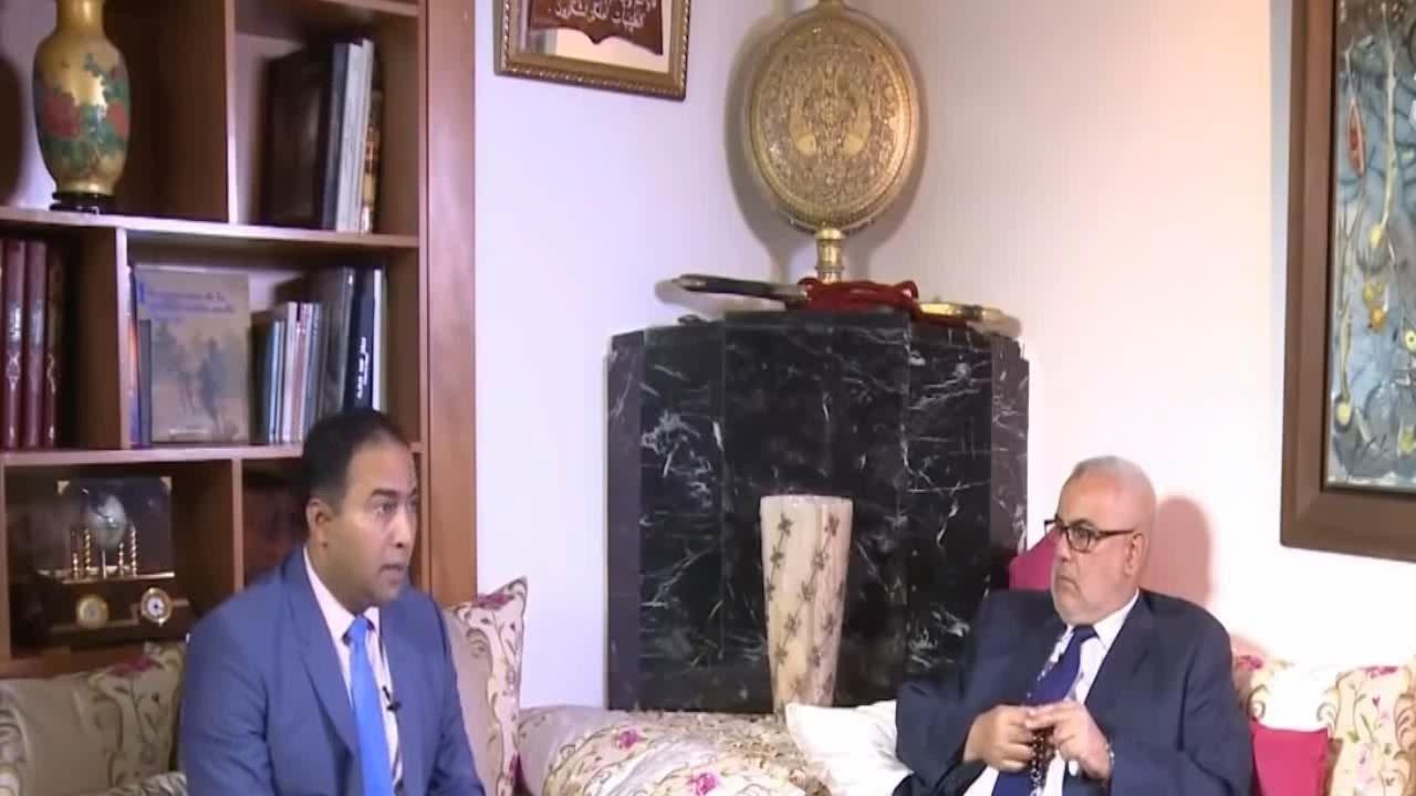 بنكيران في حوار حصري على قناة عربية يسرد فيها كل انجازاته و اخفقاته خلال 5 سنوات في الحكومة المغربية