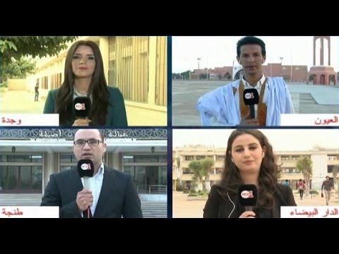 أجواء افتتاح مكاتب التصويت ومعطيات من العيون ووجدة والبيضاء وطنجة