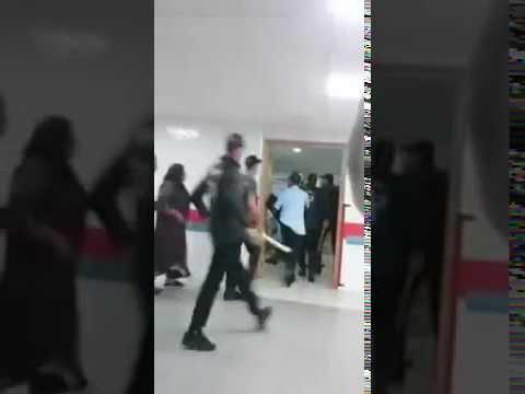 خطير جدا : اسلحة بيضاء و تشرميل داخل المستشفى الجامعي ابن سينا