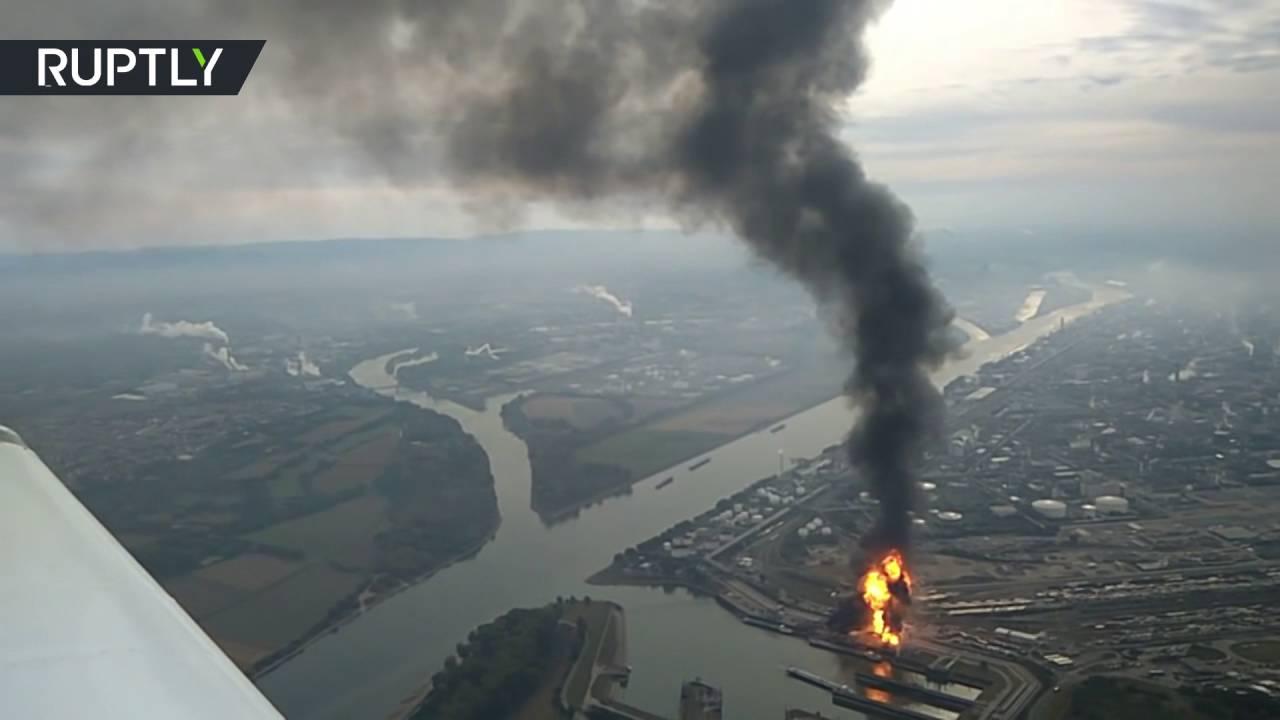 انفجار في أكبر مصنع للكيميائيات جنوب ألمانيا