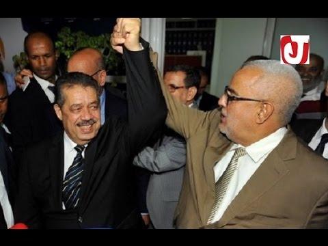 شاهد | بنكيران يستقبل شباط بالأحضان في أول لقاء يهم تشكيل الحكومة المغربية
