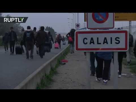 فرنسا.. بدء إخلاء مخيم كاليه للاجئين