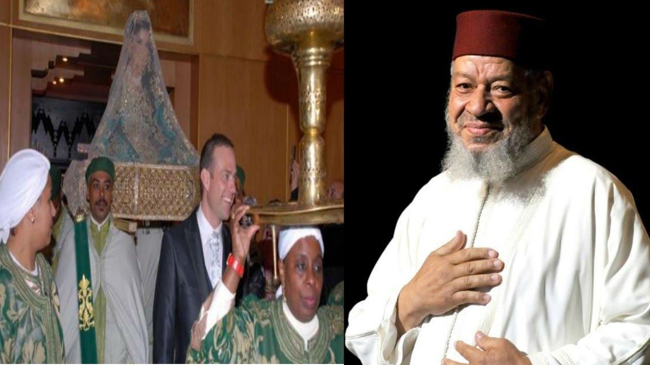 بعد سـنوات من توبته عن الـغناء، عبد الهادي بالخياط يفاجئ الجميع و يغني في عرس مغربي
