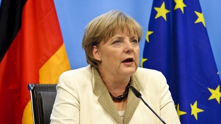 ميركل تدعو الألمان بمناسبة ذكرى الوحدة الألمانية إلى مواجهة اليمين المتطرف