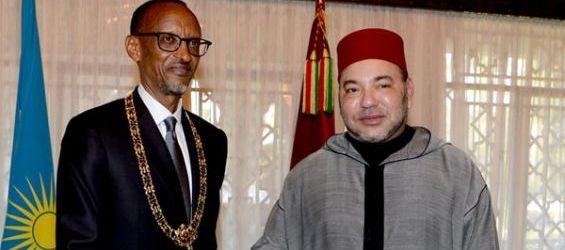 الملك والرئيس الرواندي يترأسان بكيغالي حفل إطلاق برنامج للشراكة الفلاحية
