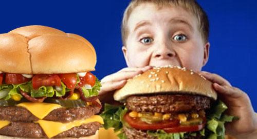 اختيارات الوجبات السريعة تؤثر في استهلاك الأطفال للصودا والسعرات